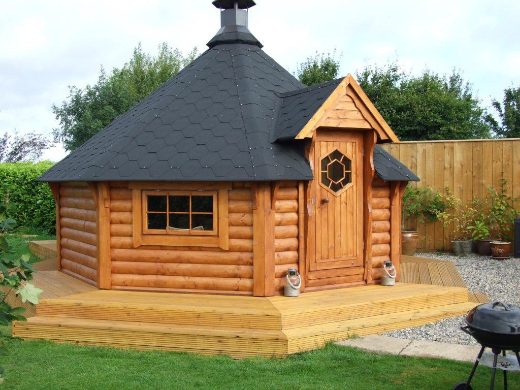 14.9m2 Grill cabin