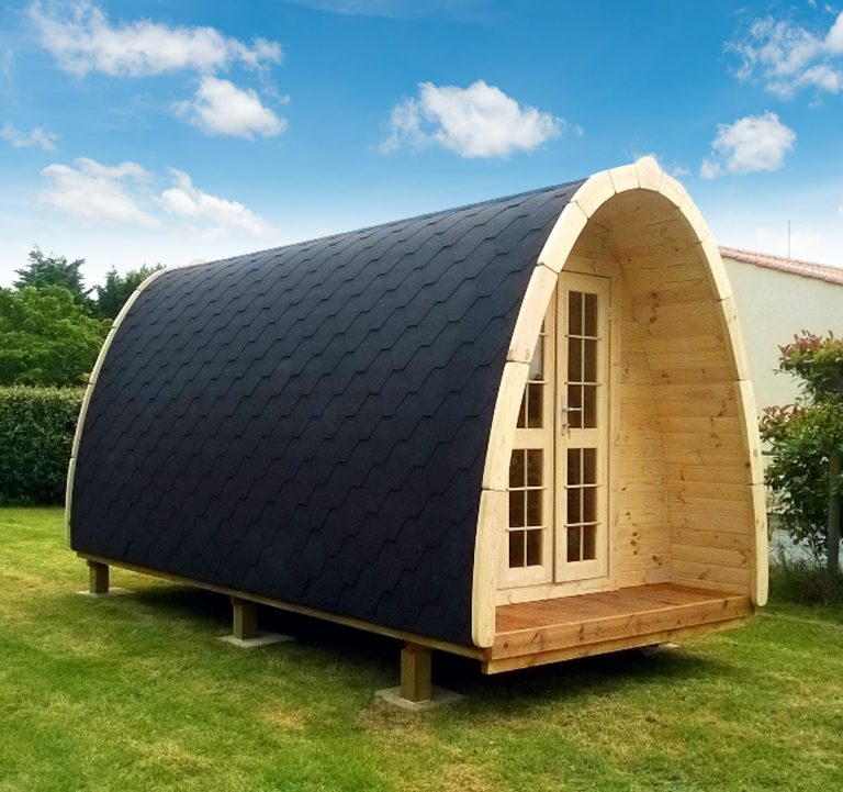 4m x 2.4m Camping pod