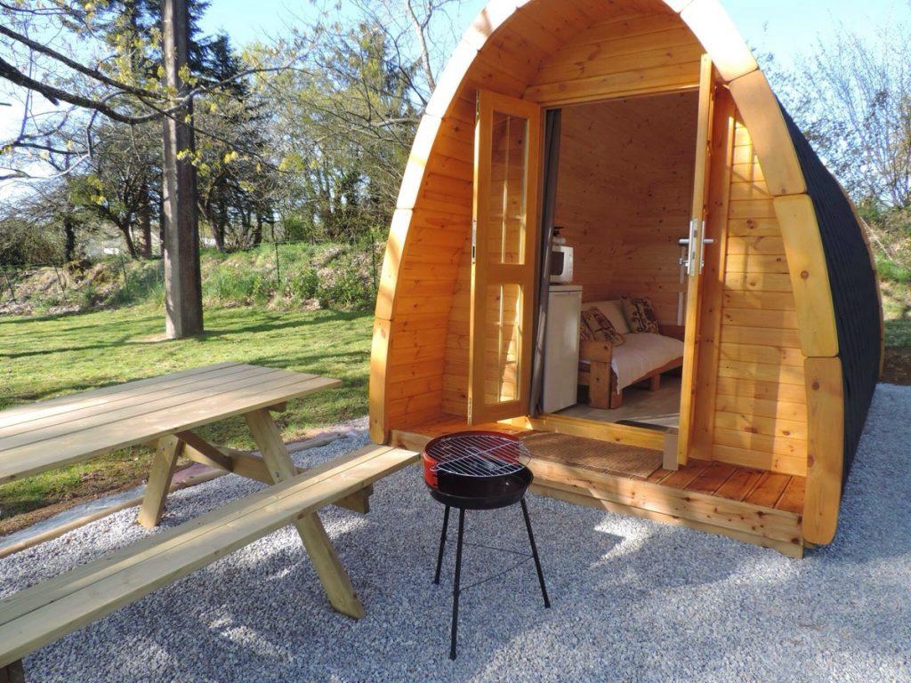 4.8m x 2.4m Camping pod
